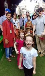 American consul general's Durga Puja Tour