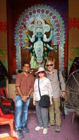 Australian Couples Kali puja tour